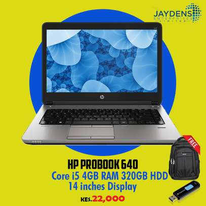 Hp Proobook 640 Core i5 /Ram 4GB /320GB HDD With free bag and a flash disk