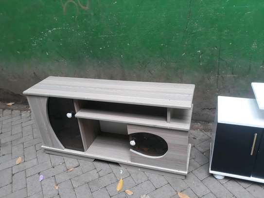 Wooden tv stand 202d image 1