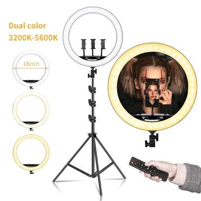 RL-18, Selfie Ring light and Photographic lamp - 18 inch image 4