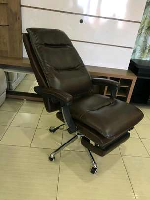 Brown Executive Office Chairs image 3