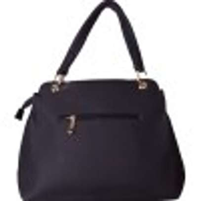 Stylish 4 in 1 Black Hand Bag image 3