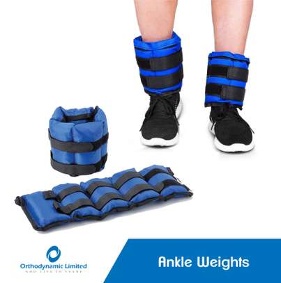 Ankle wraps (Weights) 0.5kg image 2
