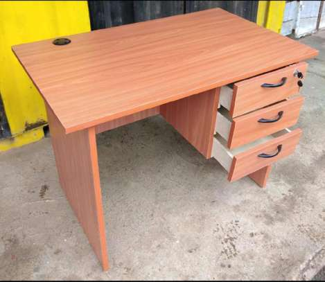 Unique office table with drawers image 1