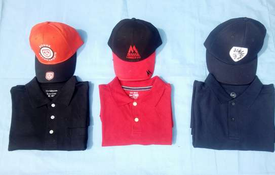 CAPS AND POLO TYPE SHIRTS image 2