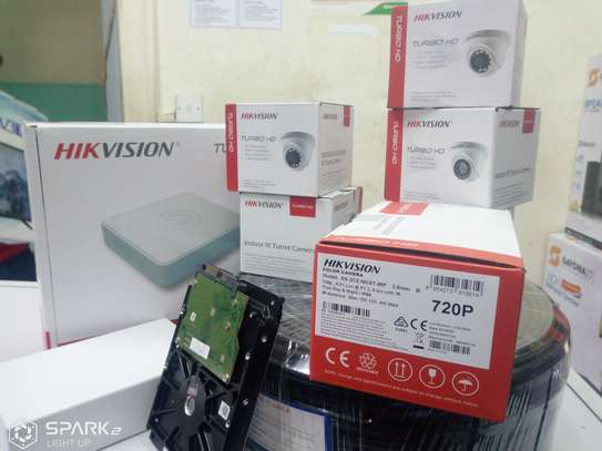 10 HD CCTV Camera Installation Package (Night Vision Enabled+ 2TB HDD + 250m Cable) image 5