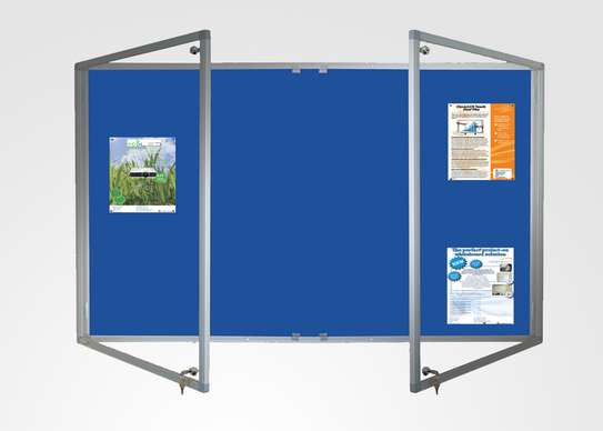 Lockable notice boards. image 3