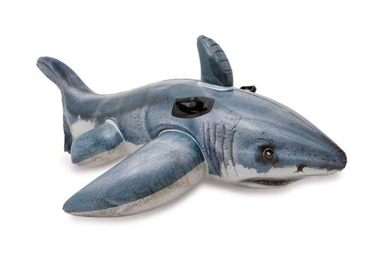 Shark Ride-on Swimming Floater image 1