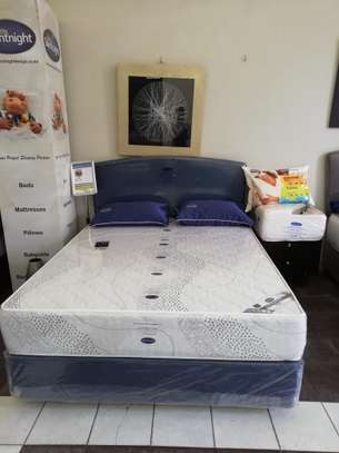 5yr warranty Orthopedic Spring Mattresses (5 by 6, 10inch). Free Delivery image 1