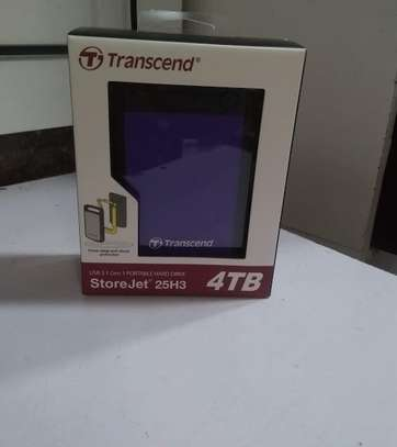 4TB external Transcend harddrive 3.0