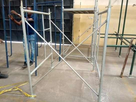 Scaffolding frame ladder for sale. image 2