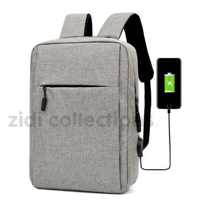Quality Anti-Theft Laptop Backpack With USB Charging Support image 3