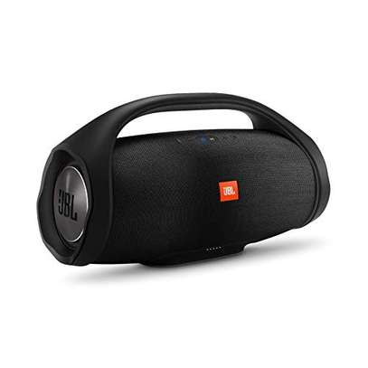 JBL Boombox, Waterproof portable Bluetooth speaker with 24 hours of playtime - Black image 1