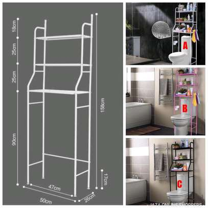 Toilet rack organizer image 1