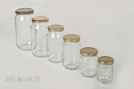Multipurpose Storage Glass Jars, 28g/ml to 2kg/ml image 5