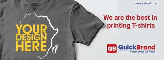 Best quality Tshirt printing in Nairobi by Quick Brand