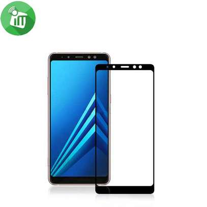 5D HD Clear Tempered Glass Front Screen Protector for Samsung A8 2018 and A8 Plus 2018 image 2