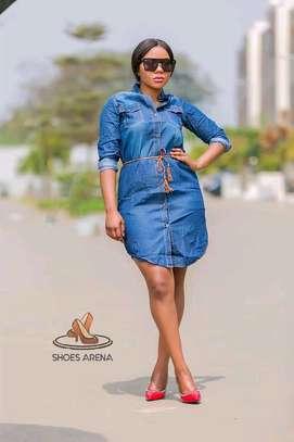 Classy Denim shirt dresses image 3