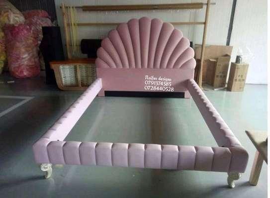 King size 6*6 beds for sale in Nairobi Kenya/modern pink beds for sale in Nairobi Kenya/6*6 pink beds image 1