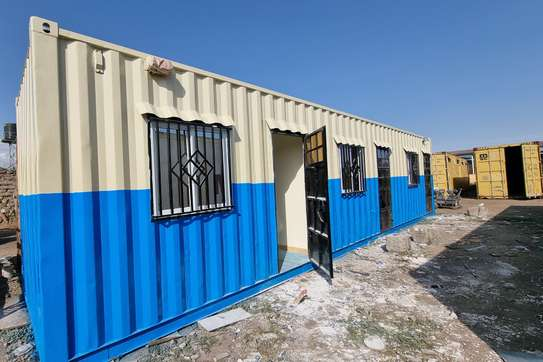 40ft office containers fully insulated image 1