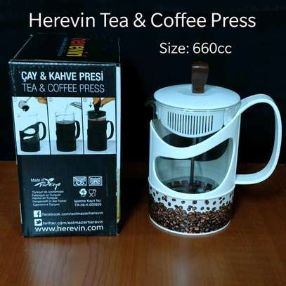 660ml/1000ml tea andcoffee press. image 1