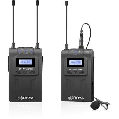 BOYA BY-WM8 Pro-K2 UHF Dual-Channel Wireless Lavalier System image 2
