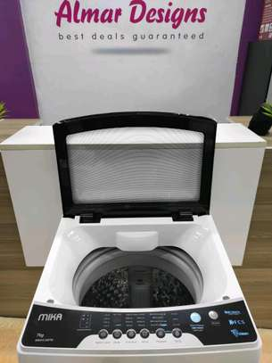 Washing Machine, Top Load, Fully-Automatic, 7Kgs, White image 2