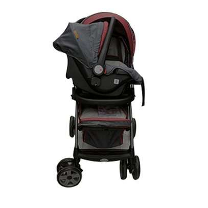 Cool 2 in 1 baby stollers/ prams- red image 2