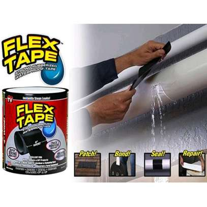 Flex Tape Waterproof Adhesive Repair Rubberized Tape image 7