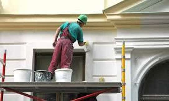 Painting, Wall Decoration, Wall Paper Fixing & Tiles Flooring image 2