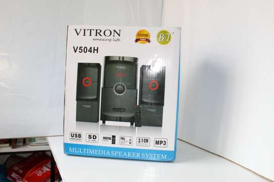 Vitron V504H Multimedia Woofer Speaker Sound System image 1