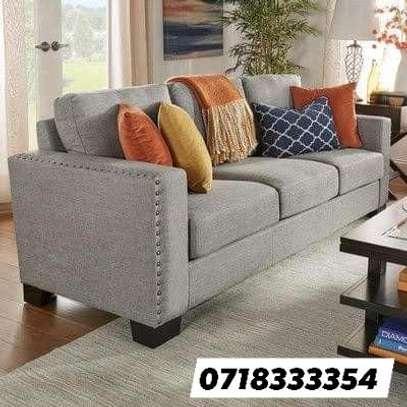 Stylish Contemporary Quality 3 Seater Sofa image 1