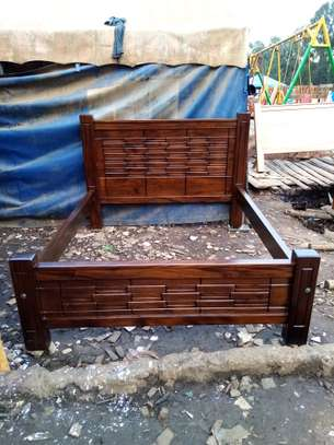 Wooden (queen size ) Bed. image 3