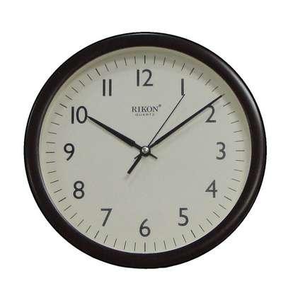 Rikon Wall Clock - Non Ticking - Ivory Dial image 3