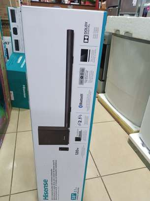 HS212  Hisense sound bar system with 2.1 wireless subwoofer
