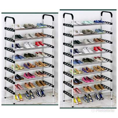 8 layer shoe rack image 1