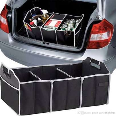 3 in 1 foldable collapsible car boot organiser image 1