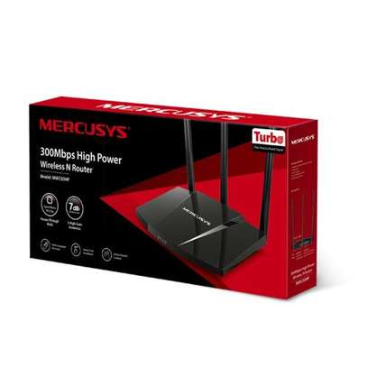 Mercusys 300Mbps High Power Wireless Router( WALL BREAKER) image 1