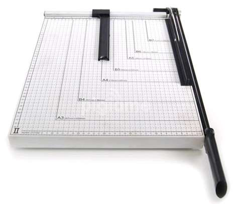A3 Metallic Paper Cutter Guillotine image 1