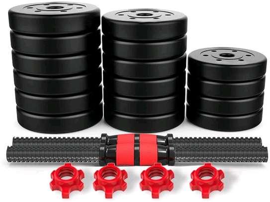 30kg Adjustable Dumbbells/Barbell image 5
