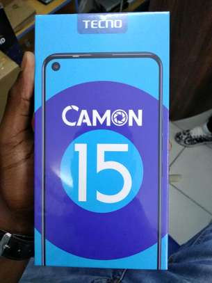 Tecno Camon 15 64GB/4GB RAM brand new and sealed in a shop image 1