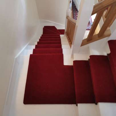 RED WALL TO WALL CARPETS 4MM THICKNESS image 11