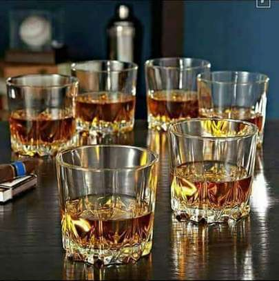 6 Pieces Whiskey Glasses Set image 1