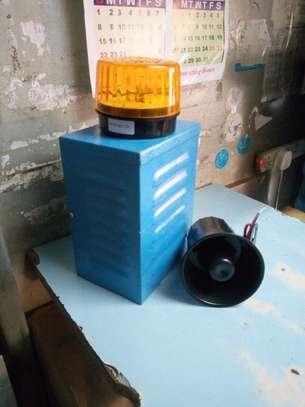 Siren Alarm kit (strobe,horn, holding box) image 2