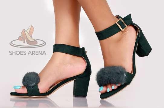 Suede Chunky heels image 2