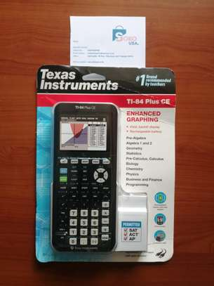 Texas Instruments TI-84 Plus CE Color Graphing Calculator image 1