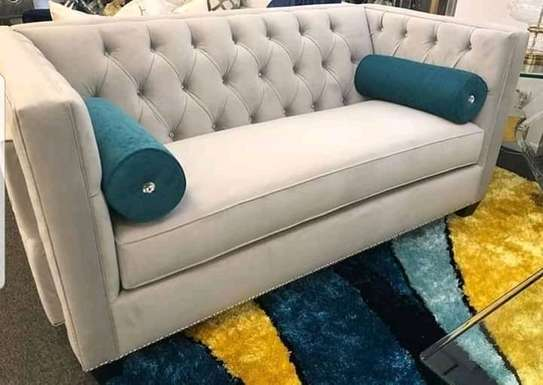 Classic 3 seater Chesterfield sofas. image 3