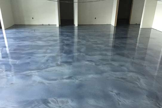 Fossilcote Metallic Epoxy Flooring