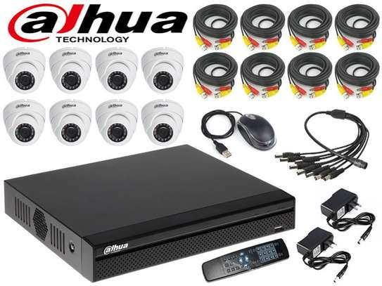 8 Channel CCTV Package Plus Installation image 1