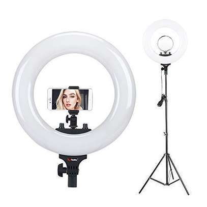 14″ Bi Color LED Ring Light with Stand