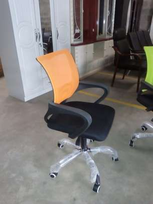 Colorful Mesh Secretarial chairs
